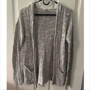 Mudd Grey Knit Cardigan 🌫